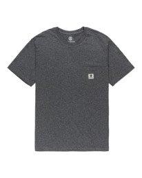 0 Basic Label - T-Shirt for Unisex Gray Z1SSI1ELF1 Element