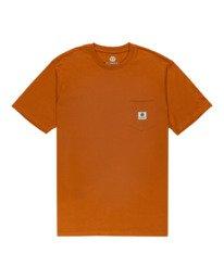 0 Basic Label - T-shirt pour Unisexe Beige Z1SSI1ELF1 Element