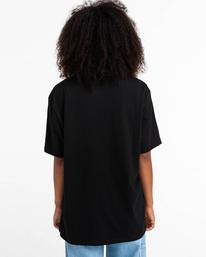 5 Basic Label - Camiseta para Unisex Negro Z1SSI1ELF1 Element