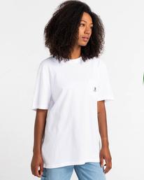 2 Basic Label - T-shirt pour Unisexe Blanc Z1SSI1ELF1 Element