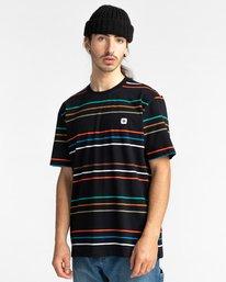 1 Hovden - T-shirt pour Unisexe Noir Z1SSI3ELF1 Element