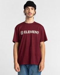 1 Blazin - T-Shirt for Men Red Z1SSI5ELF1 Element