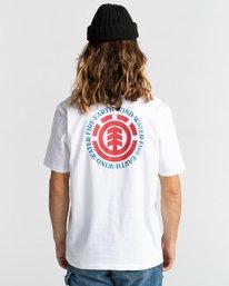 3 Seal - T-Shirt for Men White Z1SSI8ELF1 Element