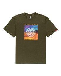0 Dusky - Camiseta para Hombre Verde Z1SSJ7ELF1 Element
