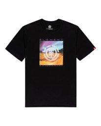 0 Dusky - Camiseta para Hombre Negro Z1SSJ7ELF1 Element