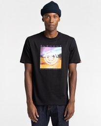 1 Dusky - Camiseta para Hombre Negro Z1SSJ7ELF1 Element
