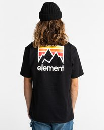 3 Joint - Camiseta para Unisex Negro Z1SSM4ELF1 Element