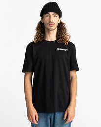 2 Joint - Camiseta para Unisex Negro Z1SSM4ELF1 Element