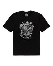 0 A World Apart - T-shirt pour Homme Noir Z1SSO7ELF1 Element