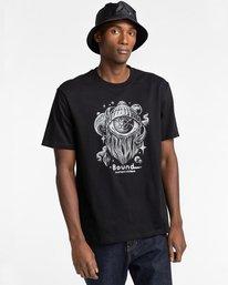 1 A World Apart - T-shirt pour Homme Noir Z1SSO7ELF1 Element