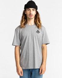 2 Elliptical - T-Shirt for Men Grey Z1SSO8ELF1 Element