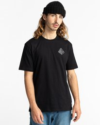 2 Elliptical - T-Shirt for Men Black Z1SSO8ELF1 Element