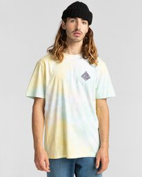 2 Elliptical - T-Shirt for Men Yellow Z1SSO8ELF1 Element