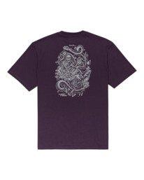 1 Acceptance - T-shirt pour Homme Violet Z1SSO9ELF1 Element