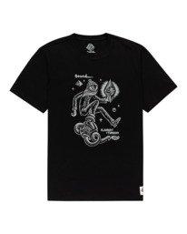 0 Forward - T-shirt pour Homme Noir Z1SSP2ELF1 Element