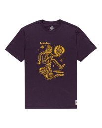 0 Forward - T-Shirt for Men Purple Z1SSP2ELF1 Element