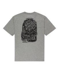 1 Reasoning - T-Shirt for Men Grey Z1SSP3ELF1 Element