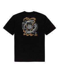 1 Rotation - T-shirt pour Homme Noir Z1SSP4ELF1 Element