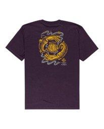 1 Rotation - T-Shirt for Men Purple Z1SSP4ELF1 Element