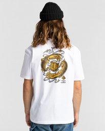 3 Rotation - T-Shirt for Men White Z1SSP4ELF1 Element