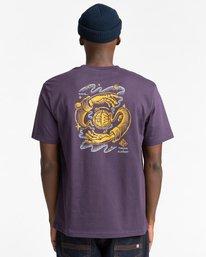 3 Rotation - T-Shirt for Men Purple Z1SSP4ELF1 Element
