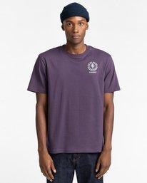 2 Rotation - T-Shirt for Men Purple Z1SSP4ELF1 Element