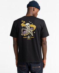 3 Transender - T-shirt pour Homme Noir Z1SSP5ELF1 Element