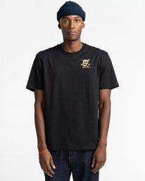 2 Transender - T-shirt pour Homme Noir Z1SSP5ELF1 Element