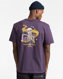 3 Transender - T-shirt pour Homme Violet Z1SSP5ELF1 Element