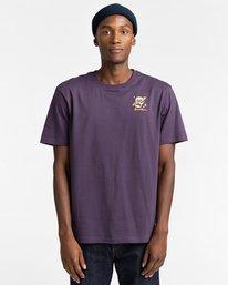 2 Transender - T-shirt pour Homme Violet Z1SSP5ELF1 Element