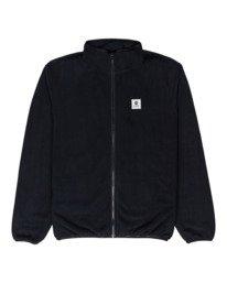 0 Abenaki - Sweat zippé pour Homme Noir Z1WAB3ELF1 Element