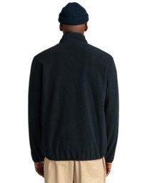 6 Abenaki - Zip-Up Fleece for Men Black Z1WAB3ELF1 Element