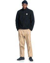 5 Abenaki - Zip-Up Fleece for Men Black Z1WAB3ELF1 Element