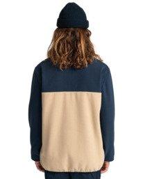 6 Abenaki - Half Zip Fleece for Men Blue Z1WAB4ELF1 Element