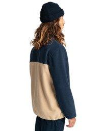 3 Abenaki - Half Zip Fleece for Men Blue Z1WAB4ELF1 Element