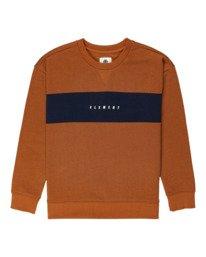 0 Sergio - Sweatshirt for Boys Beige Z2CRB2ELF1 Element