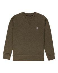 0 Cornell Classic - Sweatshirt for Boys Green Z2CRB6ELF1 Element
