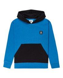 0 Leon - Hoodie for Boys Blue Z2HOB2ELF1 Element