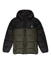 0 Alder Avalanche - Water-Resistant Jacket for Boys Green Z2JKB3ELF1 Element