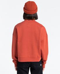 3 92 - Sweatshirt for Women Red Z3CRB1ELF1 Element