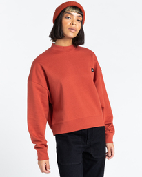 1 92 - Sweatshirt for Women Red Z3CRB1ELF1 Element