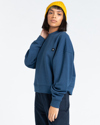 2 92 - Sweatshirt for Women Blue Z3CRB1ELF1 Element