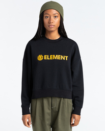 1 Logic - Sweatshirt for Women Black Z3CRB2ELF1 Element