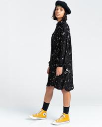 3 Hazel - Robe chemise oversize pour Femme Multicouleurs Z3DRC8ELF1 Element