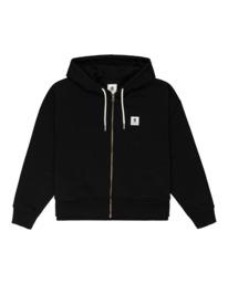 0 Lyngdall - Zip-Up Hoodie for Women Black Z3FLC1ELF1 Element