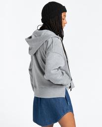 2 Lyngdall - Zip-Up Hoodie for Women Grey Z3FLC1ELF1 Element