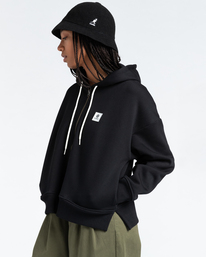 2 Lyngdall - Zip-Up Hoodie for Women Black Z3FLC1ELF1 Element