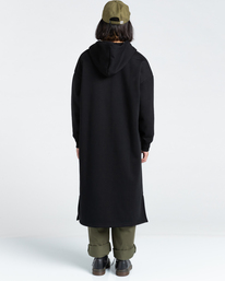 4 Lyngdall - Tall Zip-Up Hoodie for Women Black Z3FLC2ELF1 Element