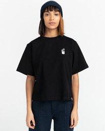 1 Minimal - T-Shirt for Women Black Z3KTC1ELF1 Element