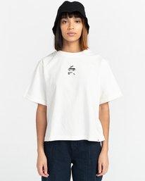 1 Minimal - Camiseta para Mujer Beige Z3KTC1ELF1 Element